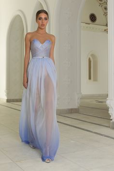 Abed Mahfouz Fall Winter 2014 2015 Haute Couture Collection# you just need to where something proper underneath and this dress is a winner