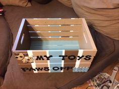 Another dog toy box