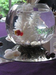 Bowl Decoration Ideas Glass Fish Bowl Decoration Ideas Decorative Fish Bowl Plants