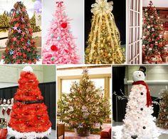 20+ Creative Christmas Tree Themes That You'll Love - http://www.amazinginteriordesign.com/20-creative-christmas-tree-themes-youll-love/