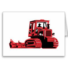 mechanical digger construction excavator tractor