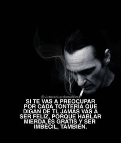 Joker Frases, Pretty Quotes, Cartoon Pics, Spanish Quotes, Harley Quinn, Memes, Funny, Inspirational, Truths