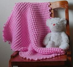 Ružová deka pre batoľa