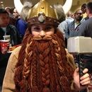 DYI yarn beard #http://www.instructables.com/id/How-To-Grow-Your-Own-Epic-Dwarf-Beard-In-One-Eveni/