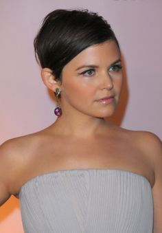 Ginnifer Goodwin's cropped style is totally sophisticated. #short #hair #haircut