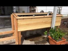 Self-watering SIP Sub-irrigated Raised Bed Construction (How to Build) - YouTube