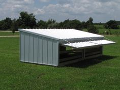 Hog Sheds with Shade Door