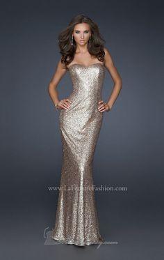 Done Deal..These are bridesmaids dresses La Femme 17368 Dress - MissesDressy.com