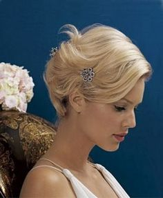 Short Hair Wedding Styles