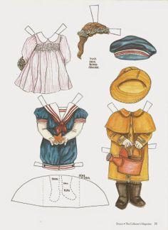 Miss Missy Paper Dolls: A Doll's Paper Doll