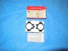 """Redfield 1 Pair 1"""" Split Low JR/SR Scope Mount Rings STD Rear/Front NOS    eBay"""