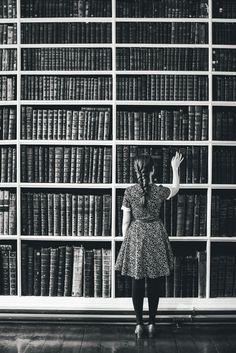 Me conformo con una biblioteca así, con todos los libros que quiero ♥