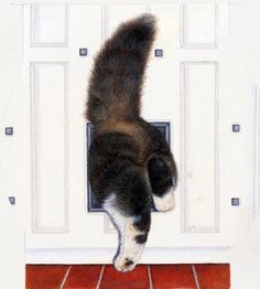 """""""Tight Squeeze""""by Anne Mortimer"""