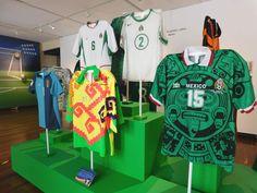 Camisetas de la selección Mexicana. Museo Nacional del Culturas del Mundo. #Futbol, #pasión, #colección, #caminandopciudad,
