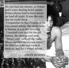 Prince story.