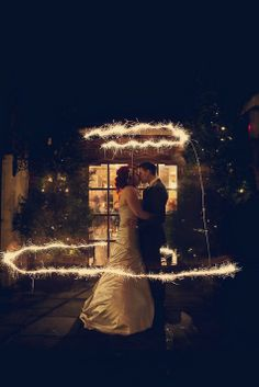 Kate and Tony's Detailed, Down-To-Earth, DIY New Years Eve Wedding by assassynation