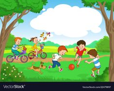 Find Funny Cartoon Vector Illustration Funny Kids stock images in HD and millions of other royalty-free stock photos, illustrations and vectors in the Shutterstock collection. Funny Kids, Cute Kids, Picture Comprehension, Fruit Coloring Pages, School Murals, Borders For Paper, Giant Paper Flowers, Kids Ride On, Free Vector Art