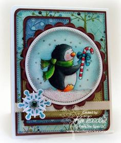 Penguin Pals by blondie090277 - Cards and Paper Crafts at Splitcoaststampers