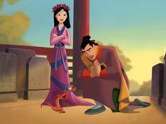 Mulan Princesas Disney   Dibujos para Niños