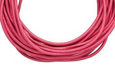 Full-grain leather cord, 2mm round Crimson 5 yard >>> Details can be found at http://www.laminatepanel.com/store/full-grain-leather-cord-2mm-round-crimson-5-yard/?gh=250616092314