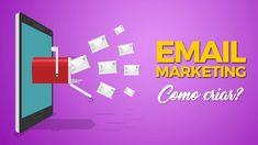Como Fazer Email Marketing? Aprenda Passo a passo! E-mail Marketing, Internet Marketing, Youtube, Letters, Investing, Social Networks, Step By Step, Messages, Online Marketing