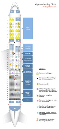 Delta Seating Chart