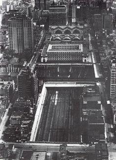 Penn Station, 1922.