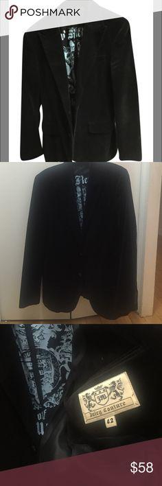 Juicy Couture Men's Velvet Blazer EUC. INSTAGRAM: @unionsquaremama Juicy Couture Suits & Blazers Sport Coats & Blazers