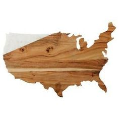 Thirstystone Marble & Wood Map Board - Types of Cheese Marble Wood, White Marble, Wood Cutting Boards, Bamboo Cutting Board, Cheese Platter Board, Types Of Cheese, Maputo, Wood Tray, Serving Board