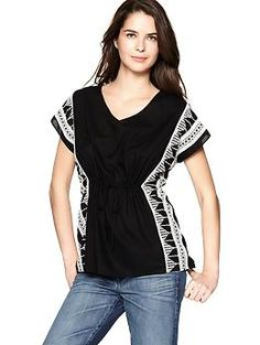 Embroidered poncho - comfortable a6f5685cd731