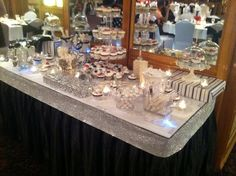Jump the Broom Bling Candy Buffet