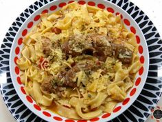 Greek Recipes, Macaroni And Cheese, Spaghetti, Food And Drink, Cooking Recipes, Pasta, Beef, Meals, Ethnic Recipes