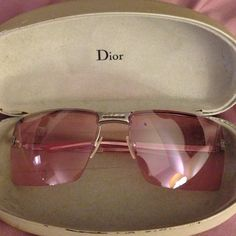 8cd9117a6b Dior pink lens sunglasses in excellent condition