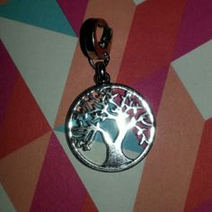 """Tree of life charm Clasp on silver charm. Never worn. 1"""" Jewelry"""