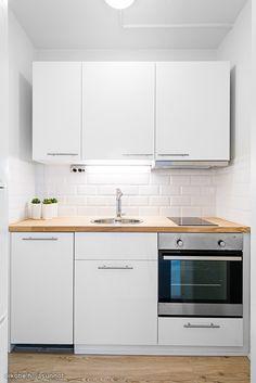 Micro Kitchen, Kitchen Sets, Home Decor Kitchen, Kitchen Interior, Kitchen Design, Small Apartment Interior, Small Apartment Kitchen, Small Space Kitchen, Apartment Design