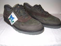 568ea9383c MEPHISTO Runoff Air Jet System sz 11 Green Brown Suede Sneaker Trainer  Walking #Mephisto #