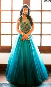 Anarkali gown thing for engagement