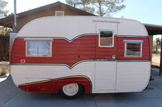 How to find out the perfect Camper Trailer shape for your needs - Homemidi Vintage Campers Trailers, Retro Campers, Cool Campers, Vintage Caravans, Camper Trailers, Retro Caravan, Gypsy Caravan, Vintage Rv, Vintage Vans