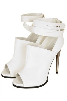 Topshop. The Bridal Collective Blog: cut-out boots for brides.