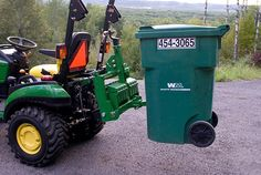 Trash Can Attachment 3 Point Hitch Attachments, Compact Tractor Attachments, Garden Tractor Attachments, Trash Dump, Tractor Accessories, Tractor Implements, Compact Tractors, Farm Boys, Homemade Tools