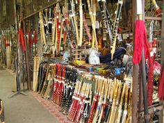Photo: Thailand - Lampang -Kad Thung Kwia -   / Others 3 (A lot of swords.)