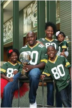 Donald Driver and family
