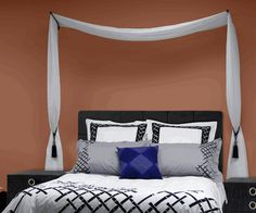 Curtain Rods and Accessories - Swing Arm Curtain Rod with Ball ...