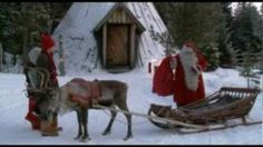 Santa Claus Reindeer Ride by Air - Lapland - Finland - Rovaniemi - Father Christmas