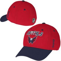 Washington Capitals Reebok Second Season Flex Hat – Red