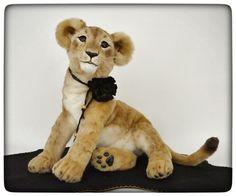 OOAK Realistic Lifesize Lion Cub by Francesca Boretti Kaleideascope | eBay