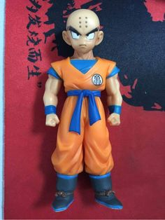 Action & Toy Figures 11cm Dragon Ball Z Super Krillin Kuririn Pvc Action Figure Collectible Model Toy Dbz Figures Bright In Colour