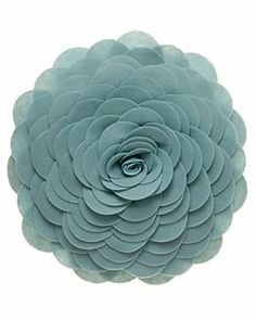 'Flower Petals' Decorative Pillow