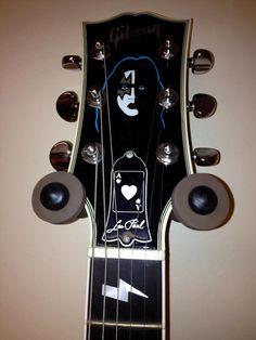 Ace Frehley Signature Gibson Custom Les Paul Ace Frehley, Guitar Collection, Ibanez, Gibson Les Paul, Outer Space, Ark, Sweden, Guitars, San Francisco
