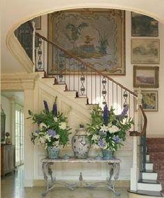 Gorgeous foyer....wow!